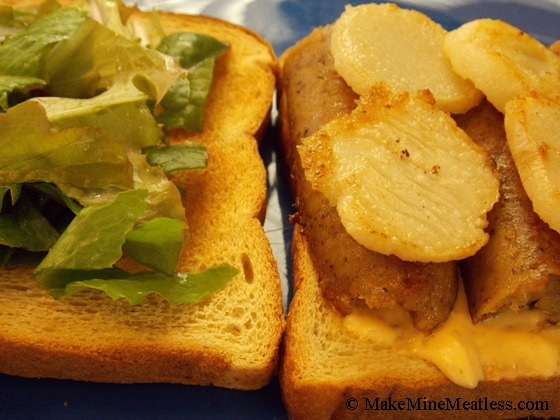 Smoked Apple Sausage Sandwich with Toasted Chestnuts | Make Mine ...